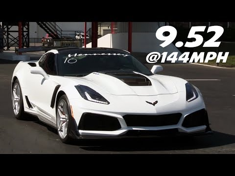 UPDATE: This Record Has Fallen - ZR1 Record - 9.52@144mph