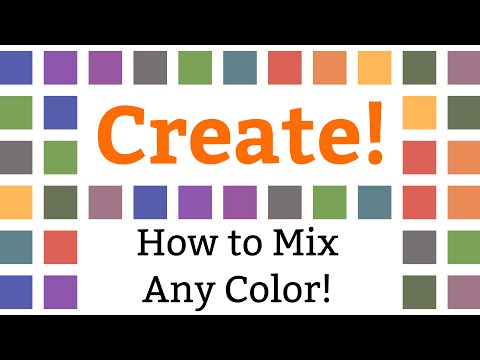How to Mix Any Color! (Or Creating Color Charts)