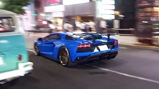 【渋谷】ローライダー他チューニングカー, スーパーカーが渋谷にたくさん現る/Lowrider, Tunend cars, Supercars arrived Shibuya. So many❗️