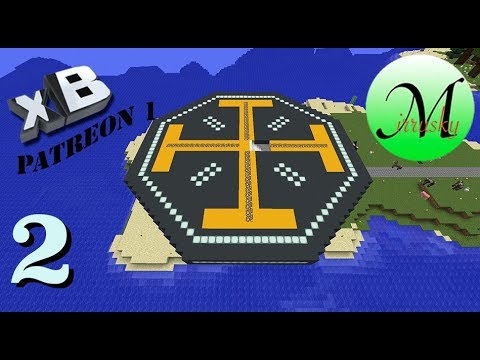 Minecraft xBCrafted Patreon 1 - Episode 2: Making the Platfo