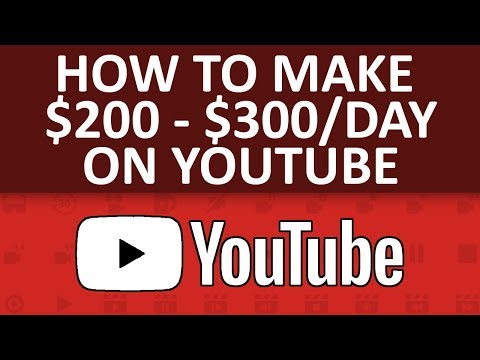 Make $200 - $300 Per Day With Trending Topics And New Videos On YouTube