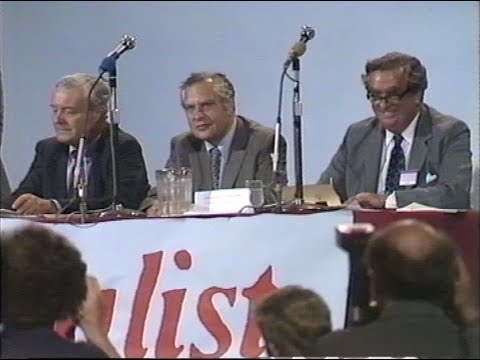 Labour Party | Leadership Battler  Silkin, Healey and Benn Debate | 1981