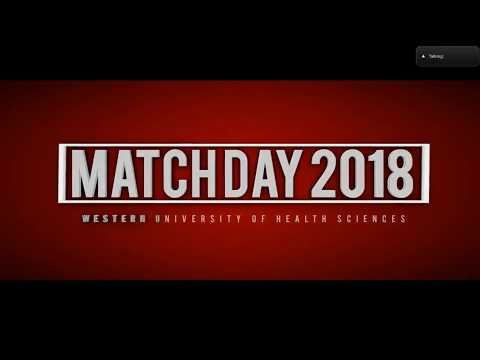 Western University of Health Sciences COMP Match Day 2018