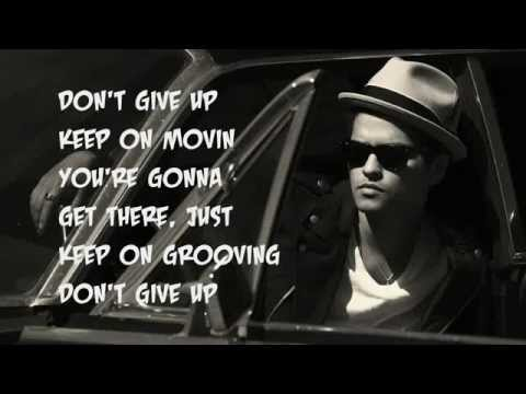 Don't Give Up - Bruno Mars