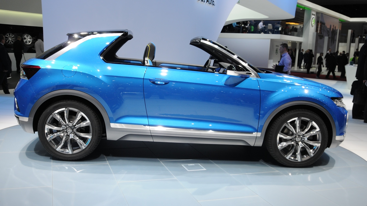 volkswagen t roc upcoming new car in india 2017 crazy motoworld youtube. Black Bedroom Furniture Sets. Home Design Ideas