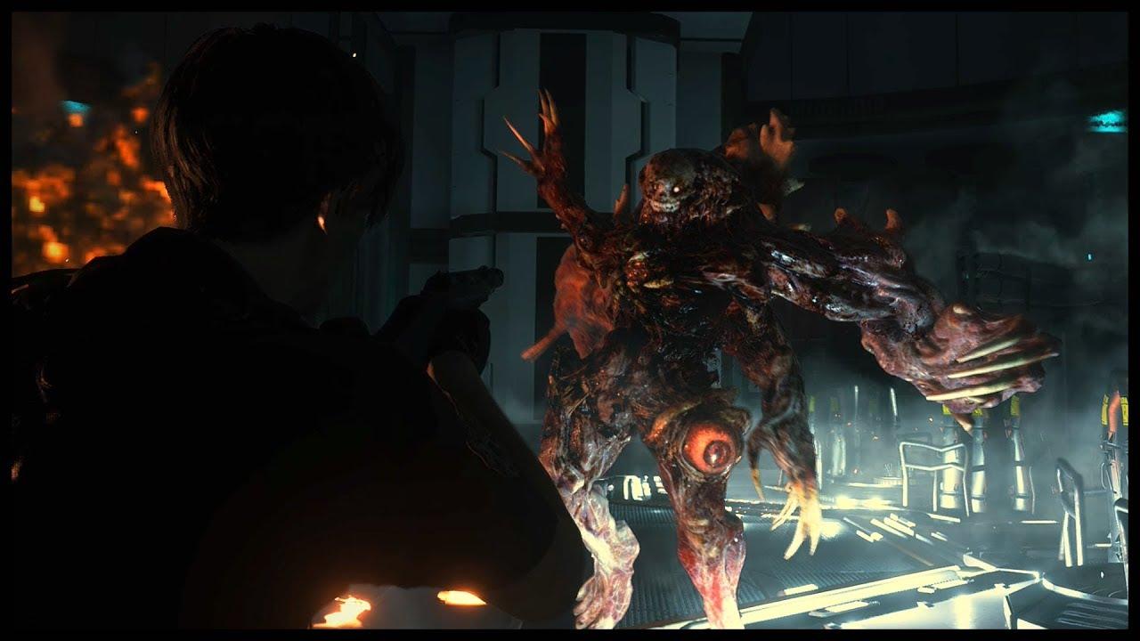 Resident Evil 2 Remake William Birkin Third Form Boss Fight