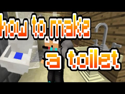 minecraft how to make a toilet