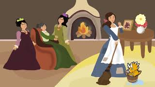 Cinderella - Arabic stories for kids. Arabic books for kids.