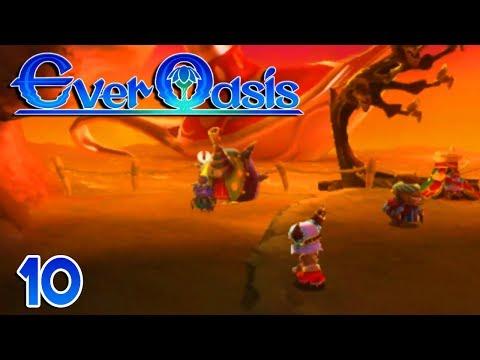 Ever Oasis Part 10 SERKAH SETTLEMENT ! Gameplay Walkthrough