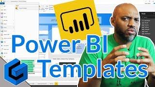 إنشاء Power BI ملف القالب في السلطة BI سطح المكتب
