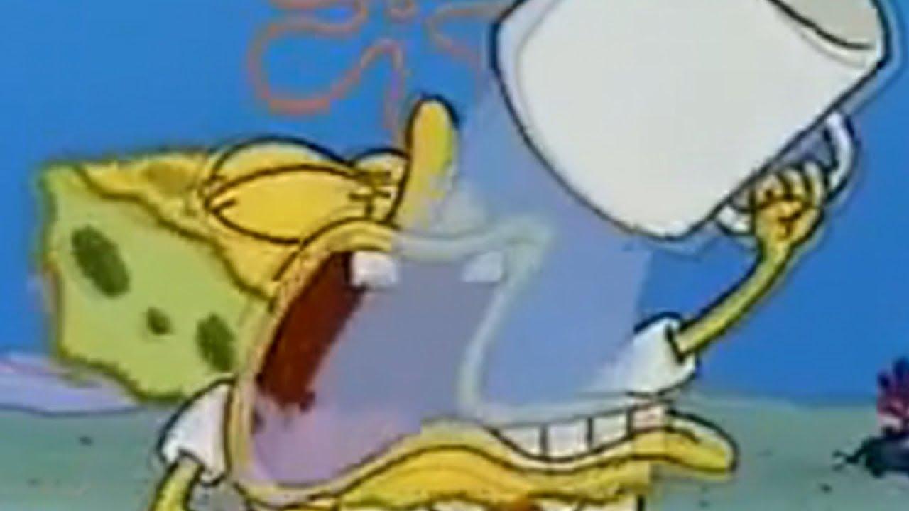 Spongebob drinks his tears for 1 hour - YouTube
