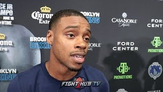"""ERROL SPENCE """"IM A BETTER FIGHTER THAN TERENCE CRAWFORD. HES SPECIAL BUT IM SPECIAL TOO!"""""""