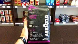 Обзор зернового кофе Lavazza Gusto Forte