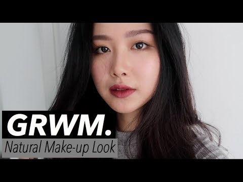 GRWM & VLOG - Natural Makeup Look & Vegan Afternoon Tea at Auckland Sky Tower (ENGSUB).