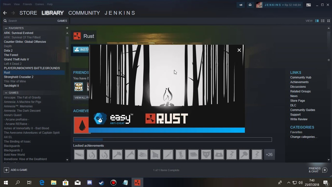 Steam Games uninstalled itself but still playable