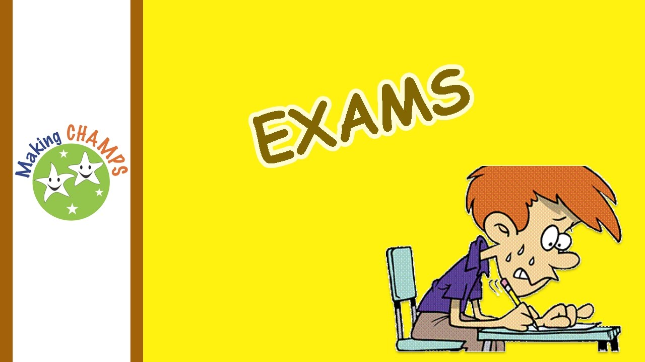 how to face exams