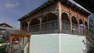 Деревенский дом родителей в поселке Козулька