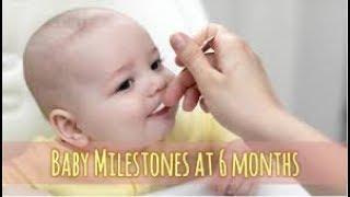 6 Month Old Baby Care -6 महीने के बच्चे की देखभाल [ IN HINDI ]