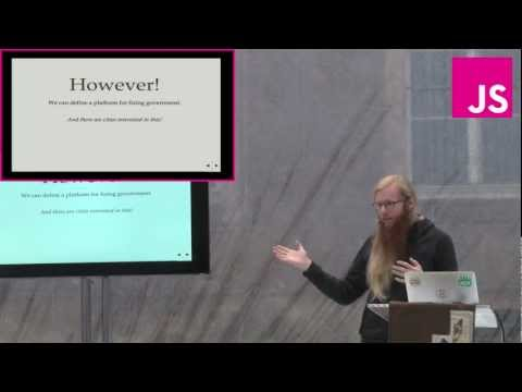 Max Ogden: Government.js - Building the JavaScript Party