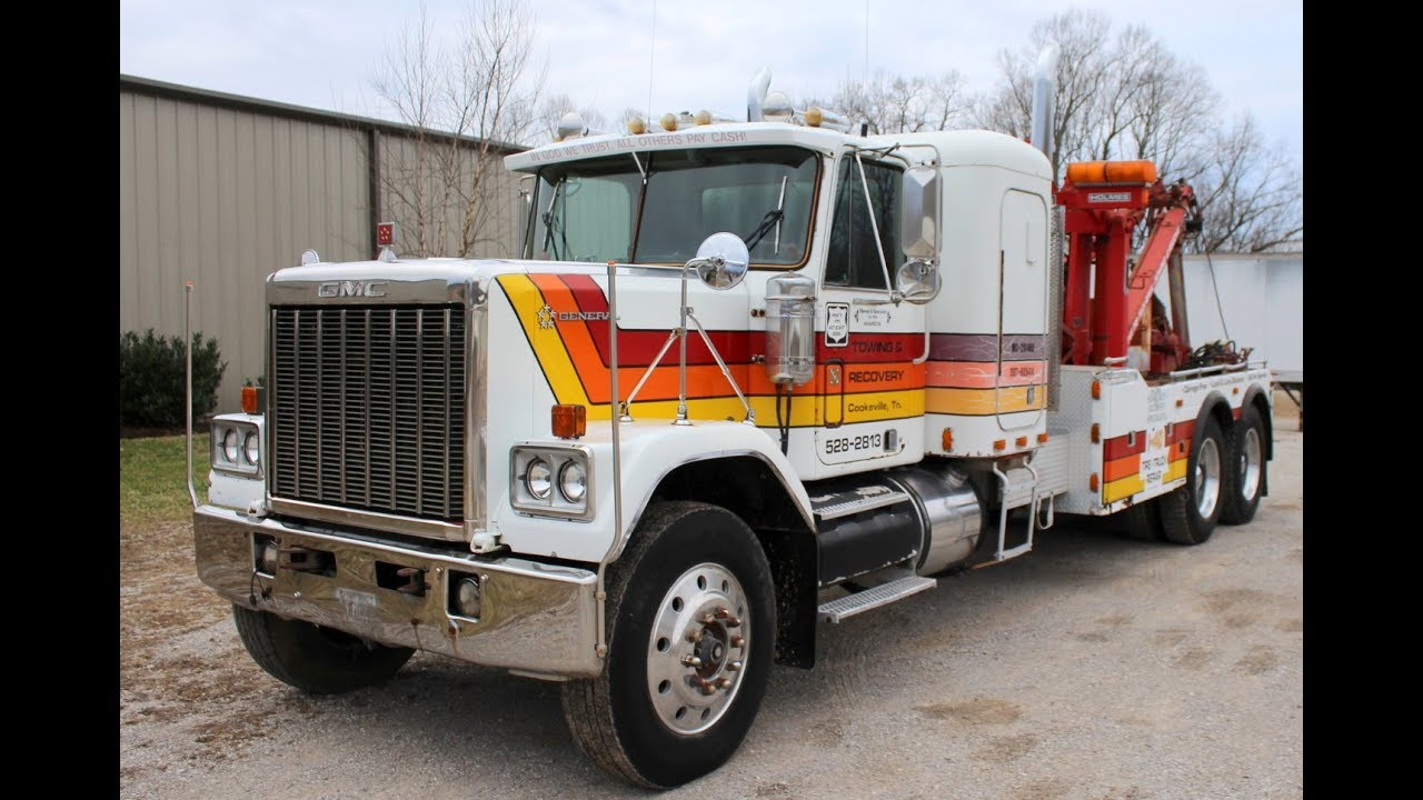 Five Star Gmc >> 1980 Gmc Five Star General Wrecker Model T49 Online At Tays Realty