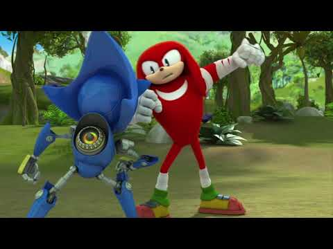 Соник Бум - 1 сезон 28 серия - Меня подставили | Sonic Boom - мультик для детей