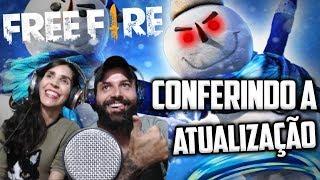 💪free-fire Ao Vivo!!duo!!chegou Nova AtualizaÇÃo,vamos Conferir Tudo💪 #freefire