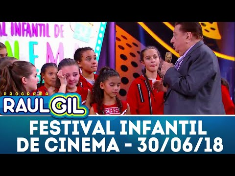 Festival de Cinema Infantil - 30/06/17 | Programa Raul Gil