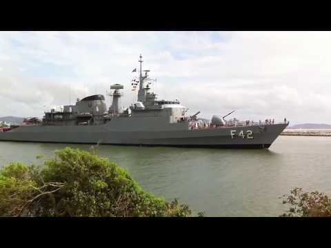 Fragata F42 da Marinha do Brasil