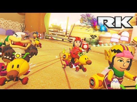 MARIO KART 8 DELUXE COMPETITIVO: RK vs MT | 5vs5 CLAN WAR | Nintendo Switch