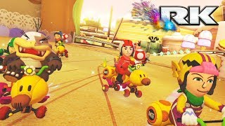 MARIO KART 8 DELUXE COMPETITIVO: RK vs MT | 5vs5 CLAN WAR | Nintendo Switch