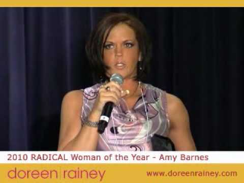Amy Barnes - 2010 RADICAL Woman of the Year