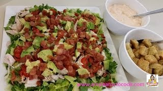 Amy's Chicken & Bacon Chopped Salad With Avocado