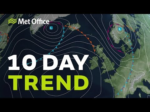 10 Day Trend – Staying Changeable? 04/09/19