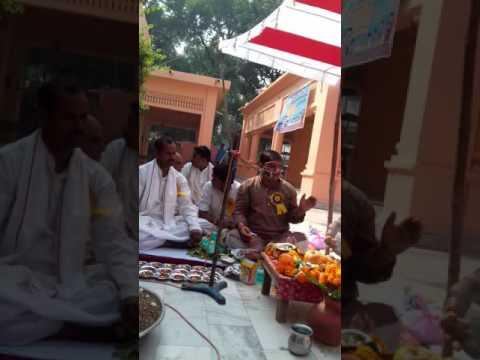 Mahayag In Moradabad For Sacrifice Soldiers On Border