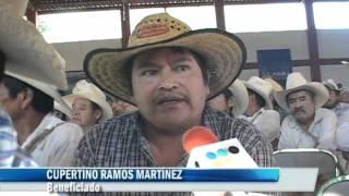 Inicia modernización y ampliación del camino Huehuetla - E.C. Dimas-López
