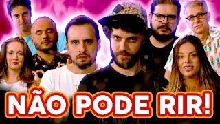 NÃO PODE RIR! com Diogo Defante, Marcela Lahaud, Rodrigo Fernandes, Claudio Torres Gonzaga
