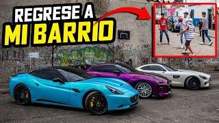 VOLVÍ AL BARRIO DONDE CRECÍ CON TODOS MIS AUTOS EXOTICOS.. | ManuelRivera11