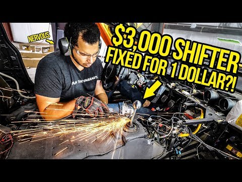 I Fixed My Fast & Furious Lamborghini's Broken $3,000 Shifter For $1! (NOT EASY)