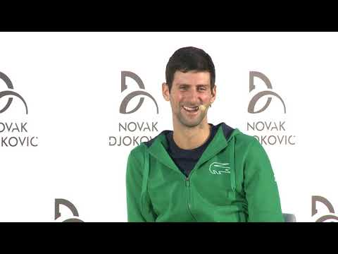 Novak Đoković O Tome Kako Je Deliti Svlačionicu Sa Federerom I Nadalom   SPORT KLUB Tenis