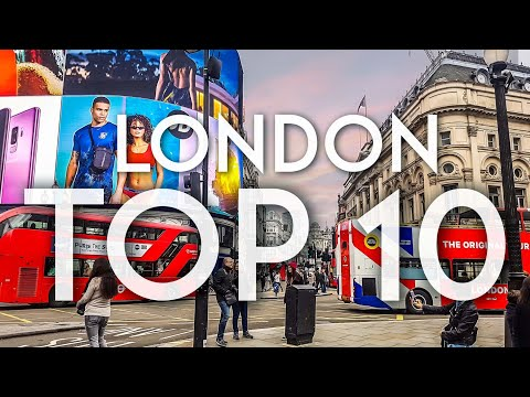 TOP 10 things to do in London 2019