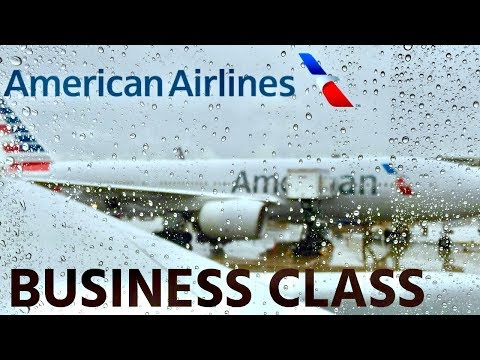 American Airlines Business Class 777-200ER  Dallas to Tokyo Narita Review
