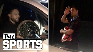 TEAM USA After Winnning World Baseball Classic | TMZ Sports