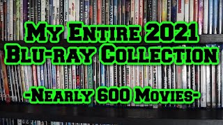 2021 Complete Blu-Ray Movie Collection (Nearly 600 Movies!)