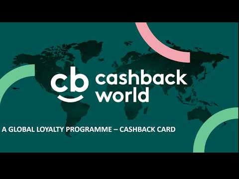 cashBack World Presentation