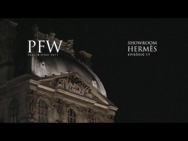 PFW EP17 |  Showroom Hermes