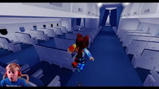 Roblox Gameplay Part 5 - Airplane (2019 With Commentary)