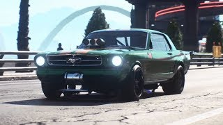 Need for Speed Payback - Derelict Car Part Locations - Ford Mustang 1965