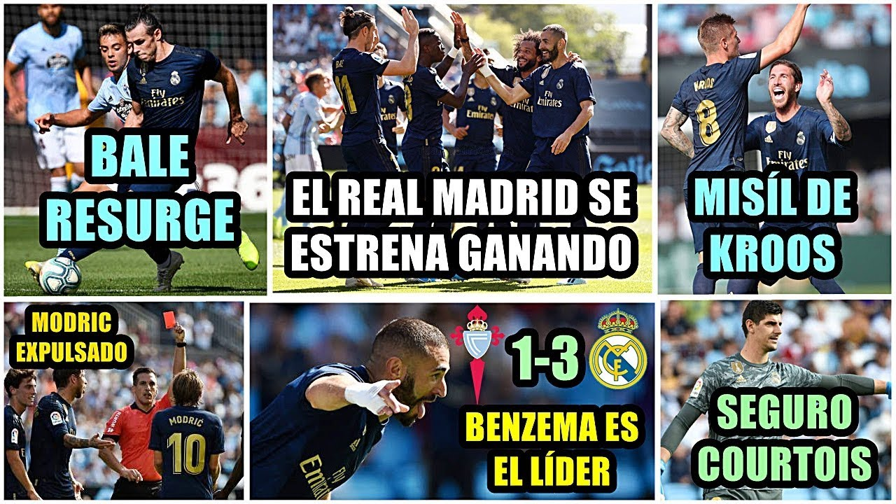 Real Madrid consigue la victoria y sigue en la carrera por La Liga