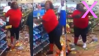 Crazy Woman Destroys Store After EBT Card Declined - MUST SEE!