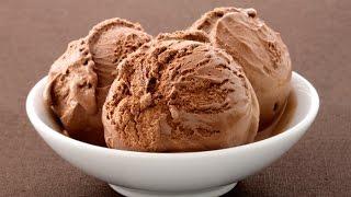 Home Made Chocolate Ice Cream - Recipe
